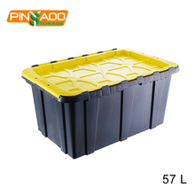 57L Custom Made Plastic Box Container For Storage in garage and homes
