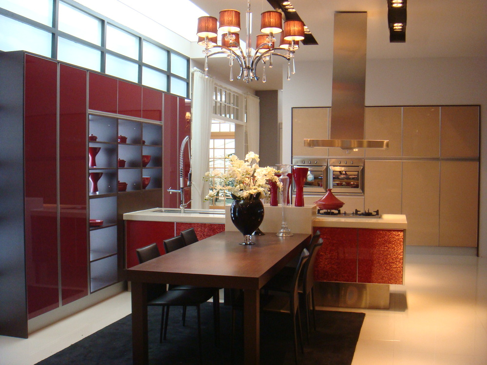 New product modular affordable modern kitchen cabinets for Kitchen cabinet sets for sale