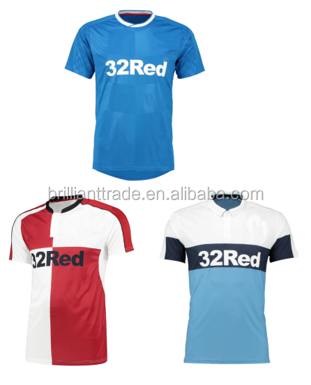 rangers football club 2017 Customized 2016 jersey