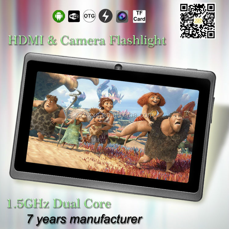 Zhixingsheng 7 inch mid pocket tablet ZXS-Q88