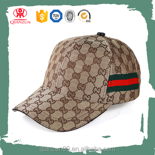 Fashion print figure pattern 6 panel promotional baseball cap with ribbon wholesale