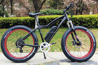 high performance YETI bike electric hill bicycle with double pedals