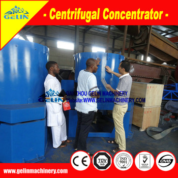 99% High recovery Gold knelson centrifugal concentrator