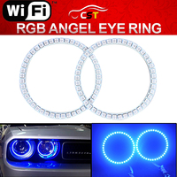7000K Xenon White 264-SMD LED Angel Eyes Halo Ring Lighting Kit for E36 E46 E38 E39 3 5 7 Series