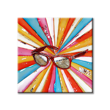 Art Painting Modern wall Hangings Artwork Abstract Pop Art Sunglasses Posters and Prints for Living Room