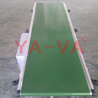 Aluminum Profile Structure PVC Belt Conveyor System for Lights