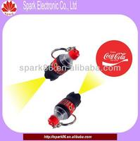 mini bottle led advertising for coco cola