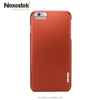New Premium Hot Sale for iPhone 6/6 Plus Hard PC Cases with Metal Luster / Nexestek