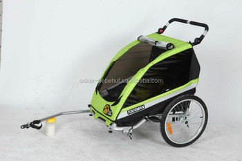 alloy structure baby bicycle trailer and Jogger