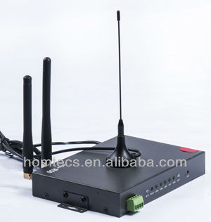 H50series Industrial 3G 4LAN 1WAN RS232 advertising hotspot wifi router