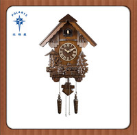 Cheap Price Wood Musical Cuckoo Clock With Bird Singing