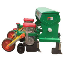 2 Rows hand operated corn seeder