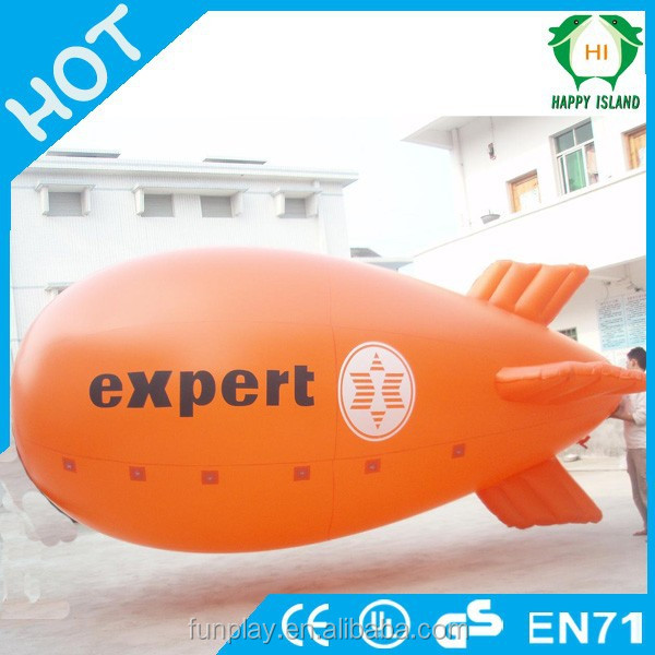 HI Excellent inflatable rental blimp,inflatable blimp for sale,rc blimp outdoor