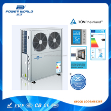 European market residential EVI heat pumps HVAC systems for house heating radiator heating