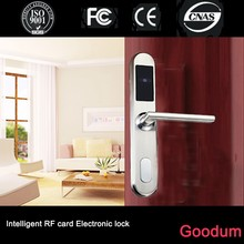 Goodum European standard mortise electronic hotel door lock