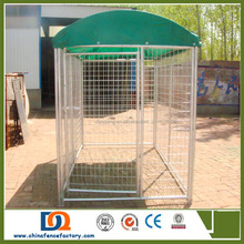 Custom Comfortable Outdoor modular heavy duty Extra large dog kennels runs wholesale