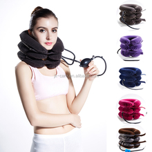 Medical air Neck Support inflatable Cervical Collar air cervical neck traction