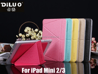 2015 Newest Transformer PU Leather TPU Case For iPad Mini 2/3