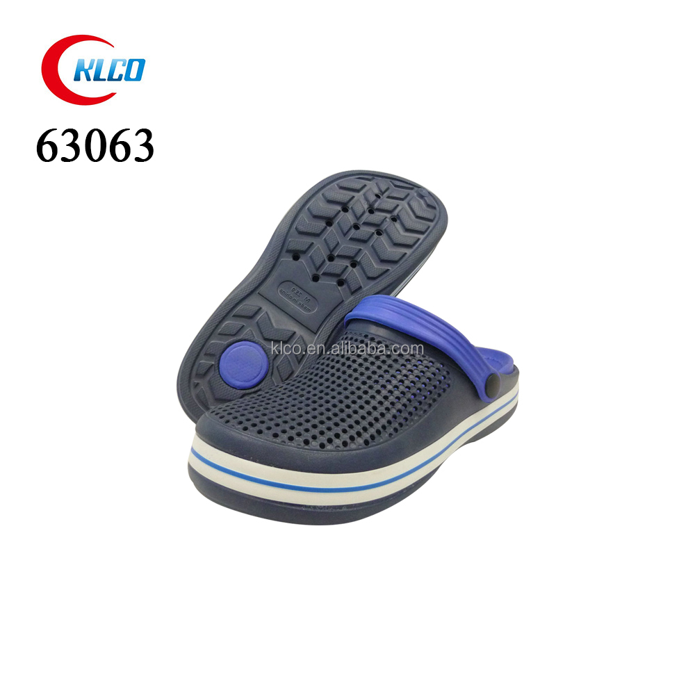 high quality best price new model slip on men garden clog shoes