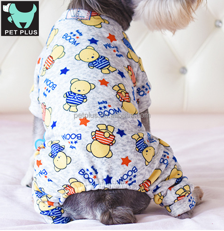 Cute jumpsuit for pet dog fall/winter dog jumper buy sale clothes