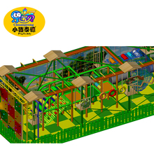 Children outdoor playground rope course equipment climbing nets for sale