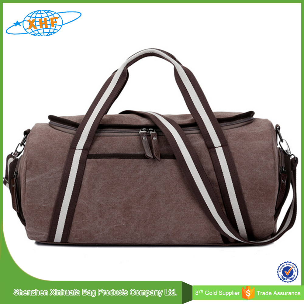 travel luggage sets brown canvas multi travelling duffle bag luggage travel bags with removable strap