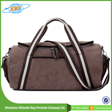travel luggage sets brown canvas multipurpose travel bag luggage with removable strap
