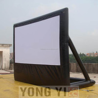 4x2.25m inflatable air Sealed screen Inflatable movie screen for sale Inflatable projection screen Inflatable screen