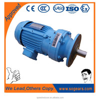 X/B Series vertical cycloidal gearbox with motor