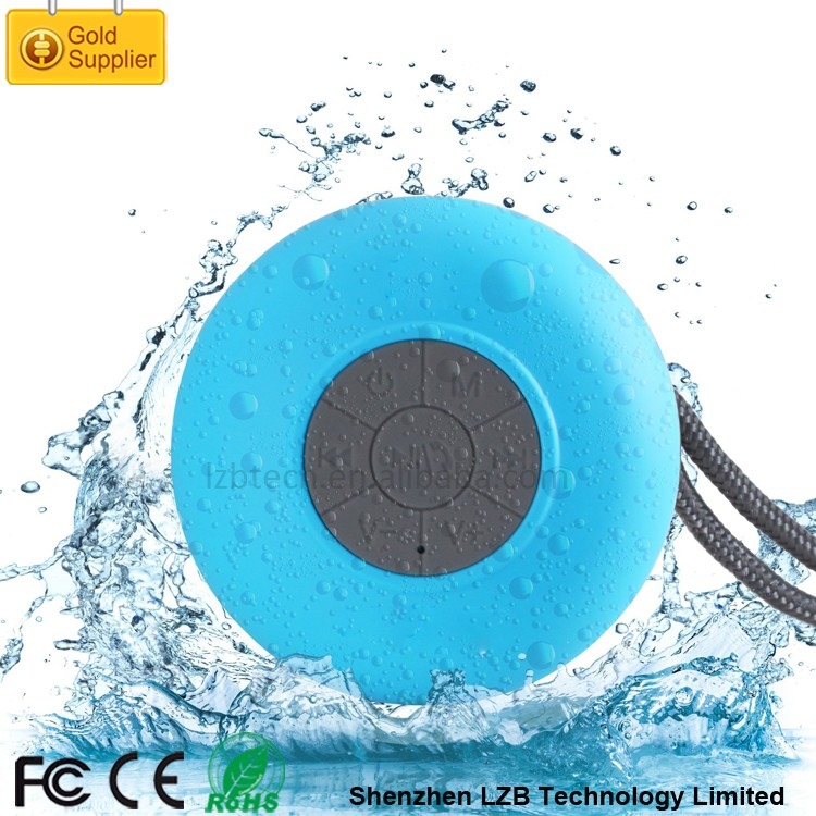 BS-012 Multifunction Mini Portable Amplifier Cheap Bluetooth Shower Speaker