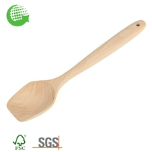 Factory Beech Natural Wholesale Small Handmade Wooden Soup Spoon Online