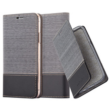 New coming Hot selling Jean leather stand case for Iphone x with invisible magnet case for iphone x