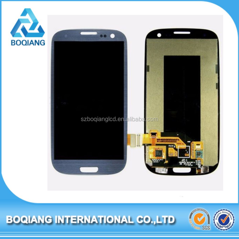 High Quality Brand New for samsung i9300 galaxy s3 lcd with digitizer