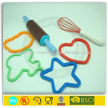 2014 different types silicone fried egg forms