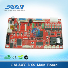 Cheap price! printer plate galaxy main board for dx5 printhead