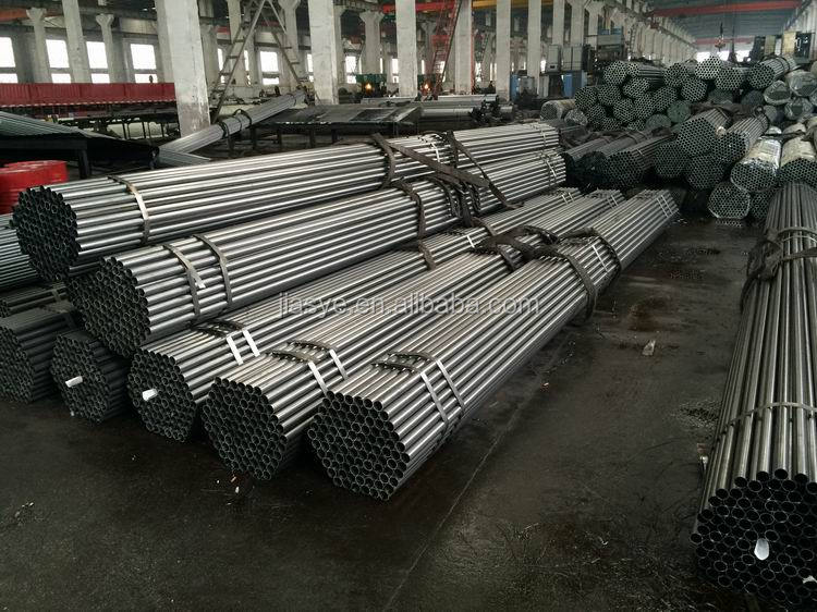 Double welded steel pipe applicable to auto parts industry