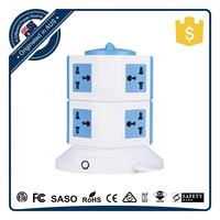 Factory Supply Electrical AC Plug Multi Power Socket for Table Charging