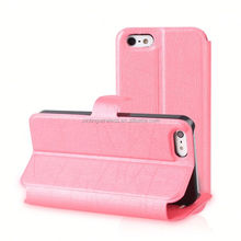 made in china pu leather stand case for iphone 5 cheap pu leather for iphone5 cases