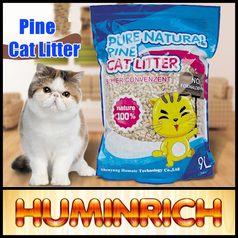 Huminrich 100% Nature Eco-friendly Best Price Pine Wood Cat Litter