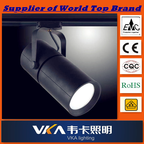 halogen lamp ,track metal halide spot light,made in aluminum,apply to commercial site