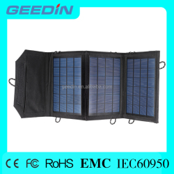 Portable and foldable dual-port solar panel cheap solar panel for mobile phone