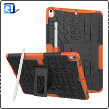 New Arrival dual layers PC + TPU shockproof case for ipad pro 10.5 case