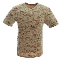 Custom Camo T Shirts with US Standard for Middle East Contries