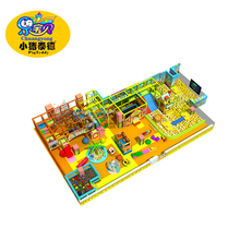 Playground used indoor commercial soft play school toys equipment for sale