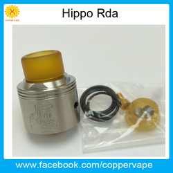 Easy to distinguish mixed juice Hippo new rda in stock sector vaping hippo rda by Coppervape