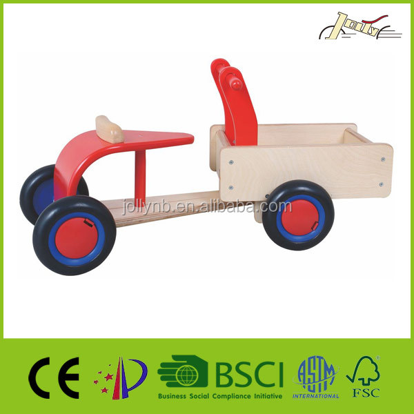 Natural Birch Plywood Big Wooden Walker For Children Walking Learning