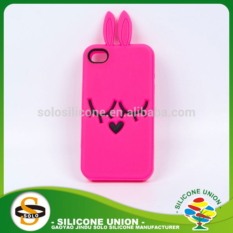 skid-proof phone case new style silicone cartoon bumper phone case