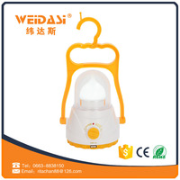 Good quality handle plastic solar lanterns rechargeable for saving energy