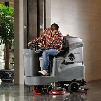 GM110BT85 Ride On China Industrial Automatic Scrubber Dryer