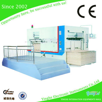 Cartons semi-automatic die cutter